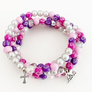 Christian Faith Cross Bracelet, Faith Jewelry